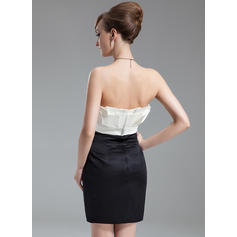 short off white cocktail dresses