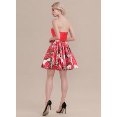 robes de cocktail rouges pour femme