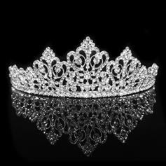 "Tiaras Wedding/Special Occasion Alloy 12.40""(Approx.31.5cm) 5.31""(Approx.13.5cm) Headpieces"