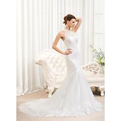 forma vestidos de novia de encaje