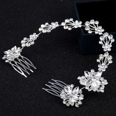 "Combs & Barrettes Alloy 10.63""(Approx.27cm) 2.36""(Approx.6cm) Rhinestone Headpieces"