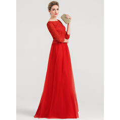 floor length evening dresses with sleeves