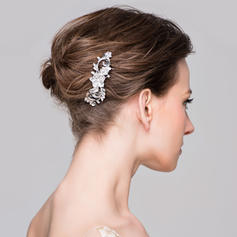 """Combs & Barrettes Wedding/Special Occasion/Casual/Party Rhinestone/Alloy 3.74""""(Approx.9.5cm) 1.18""""(Approx.3cm) Headpieces"""