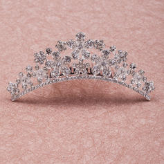 "Tiaras Wedding/Special Occasion/Party Rhinestone/Alloy 4.33""(Approx.11cm) 1.50 ""(Approx.3.8cm) Headpieces"