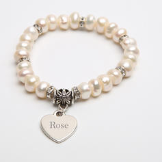 """Bracelets Pearl Ladies'/Child's Personalized 2.17""""(Approx.5.5cm) Wedding & Party Jewelry"""