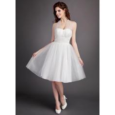 robes de mariée en dentelle dos nu