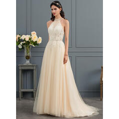 tan colored wedding dresses