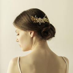"Combs & Barrettes Wedding/Special Occasion/Party Alloy 5.12""(Approx.13cm) 2.76""(Approx.7cm) Headpieces"