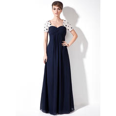 Ruffle Beading Sequins Sweetheart Magnificent Chiffon Mother of the Bride Dresses