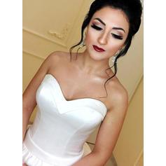 korte brudekjoler pluss størrelse