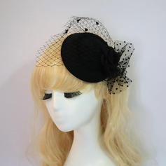 Damer' Elegant/Charmen Netto garn Fascinators