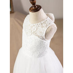 vintage style lace flower girl dresses