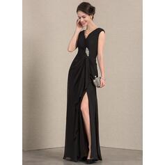 vestidos de festa elegantes com mangas