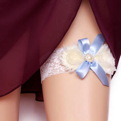 Garters Women/Bridal Wedding/Special Occasion Satin/Lace With Pearl Garter