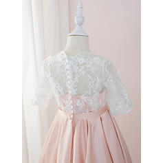 blush toddler flower girl dresses