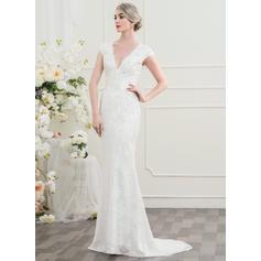 satin purple wedding dresses
