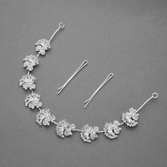 "Headbands Wedding/Special Occasion/Party Rhinestone/Alloy 11.42""(Approx.29cm) 0.71""(Approx.1.8cm) Headpieces"