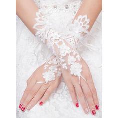Tulle Ladies' Gloves Bridal Gloves Fingerless 25cm(Approx.9.84inch) Gloves