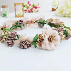 Headbands Wedding/Special Occasion/Party Silk Flower Beautiful Headpieces