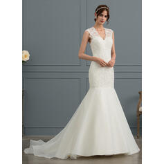 tank sleeve wedding dresses