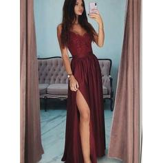 long sleeve full length evening dresses