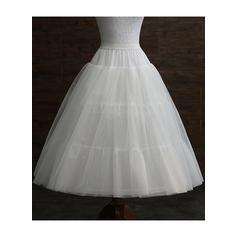 Petticoats Tulle Netting/Taffeta A-Line Slip 3 Tiers Wedding Petticoats