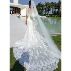 boat neck wedding dresses