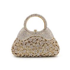 "Clutches/Luxury Clutches Wedding/Ceremony & Party Crystal/ Rhinestone Gorgeous 7.09""(Approx.18cm) Clutches & Evening Bags"
