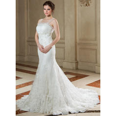 cheap lace wedding dresses with sleeves