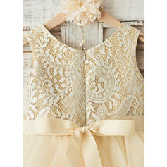 canary yellow flower girl dresses
