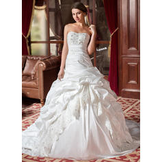Modern Ball-Gown With Taffeta Wedding Dresses (002004436)