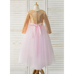 white and gold flower girl dresses