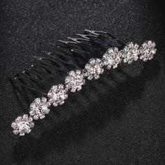 "Combs & Barrettes Wedding/Special Occasion Rhinestone/Alloy 2.99""(Approx.7.6cm) 1.69""(Approx.4.3cm) Headpieces"