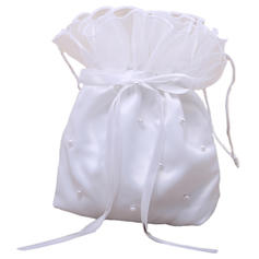 Bridal Purse Wedding Satin Tether closure Lovely Clutches & Evening Bags