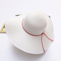 Straw Hat Simple 56-58 Hats