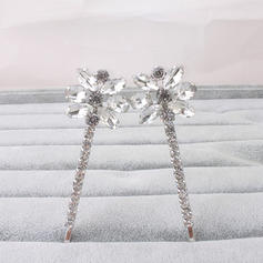 Hairpins Wedding/Party Rhinestone Classic Ladies Headpieces
