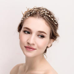 "Tiaras Wedding/Special Occasion Rhinestone/Alloy 14.17""(Approx.36cm) 3.54""(Approx.9cm) Headpieces"