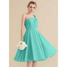 2 tone chiffon bridesmaid dresses