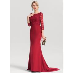 mousseline de soie longues robes de soirée