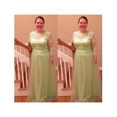 grønne kjoler til brudens mor