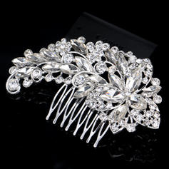 Combs & Barrettes Wedding Rhinestone/Alloy Beautiful Ladies Headpieces