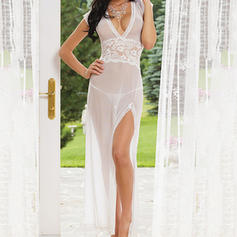 Sleepwear Sets Casual Feminine Polyester Sexy Lingerie