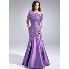 Lace Beading Sequins Sweetheart Simple Taffeta Mother of the Bride Dresses (008005998)