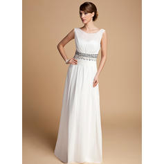 Magnificent Floor-Length A-Line/Princess Chiffon Mother of the Bride Dresses (008211061)