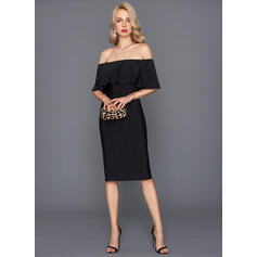 fitted cocktail dresses with sleeves