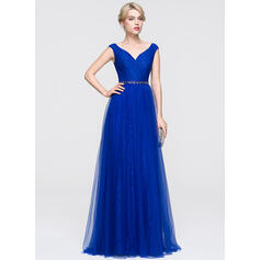 robes de bal et dentelle longue taille