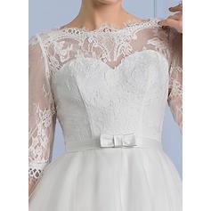 satin wedding dresses for girls