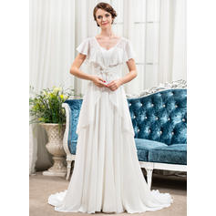 50's style short wedding dresses