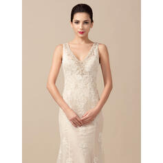 simple fishtail wedding dresses