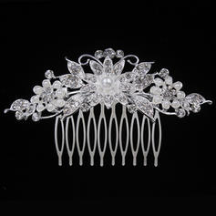 "Combs & Barrettes Wedding/Special Occasion/Party Alloy 3.94""(Approx.10cm) 2.17""(Approx.5.5cm) Headpieces"